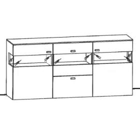 Gwinner Felino Sideboard FE241 | FE242