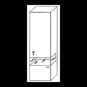 Gwinner Felino Vitrine H9-401K | H9-402K
