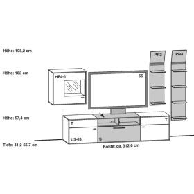 Gwinner Media Concept Kombination MC900 | MC900-SV | MC910 | MC910-SV
