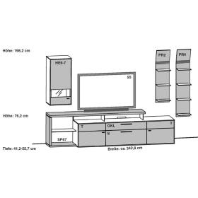 Gwinner Media Concept Kombination MC917 | MC917-SV |MC917K | MC917K-SV |  MC922 | MC922-SV | MC922K | MC922K-SV