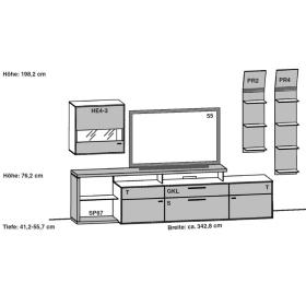 Gwinner Media Concept Kombination MC921 | MC921-SV | MC921K | MC921K-SV | MC919 | MC919-SV | MC919K | MC919K-SV