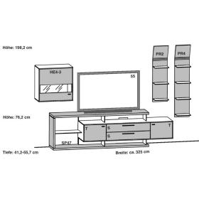Gwinner Media Concept Kombination MC923 | MC923-SV | MC923K | MC923K-SV | MC933 | MC9133-SV | MC933K | MC933K-SV