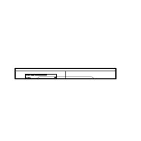 Hausmarke Light Line 3 Geräteaufsatz 565 111