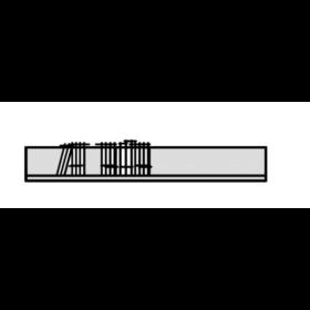 Hausmarke Light Line 3 Wandboard 570 111