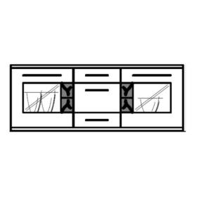 Hausmarke Light Line 3 Sideboard 243 | 263 | 283