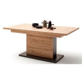 MCA Brüssel Tisch mit Säule 180 cm (280 cm) BRU1QT60