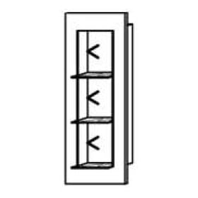 Schröder Kitzalm - Alpenflair Wandregal 4100 | 6100