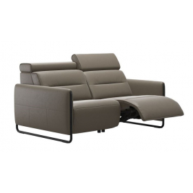 Stressless Sofa Emily | Metallgestell & Holz-Applikation | 2-Sitzer