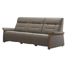 Stressless Sofa Mary | gepolstert & Holz-Applikation | 3-Sitzer