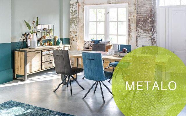 Henders und Hazel Metalo Möbel